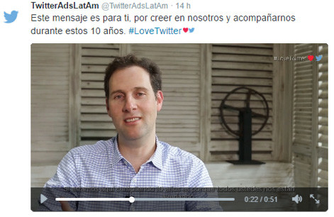 Redes Sociales: Así celebró Twitter sus 10 años - Agencia de Marketing Digital, México | Marketing 4U - 3