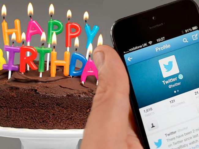 Redes Sociales: Así celebró Twitter sus 10 años - Agencia de Marketing Digital, México | Marketing 4U - 5