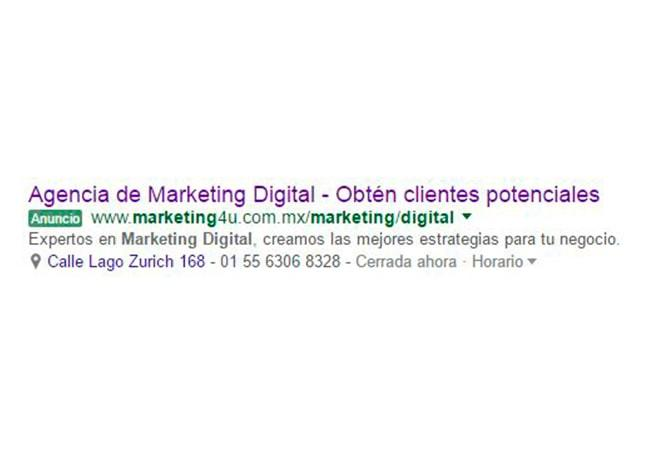 Cinco ventajas de crear anuncios en Google Adwords - Agencia de Marketing Digital, México | Marketing 4U