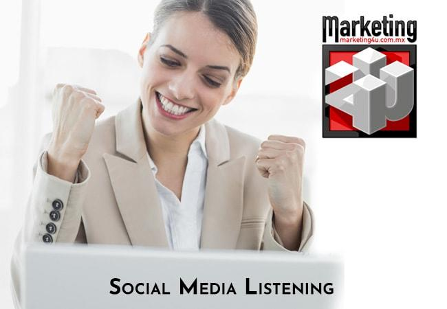 ¿Sabes qué es el Social Media Listening? - Agencia de Marketing Digital, México | Marketing 4U