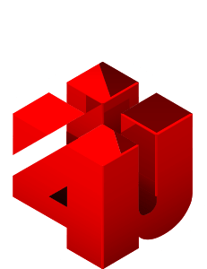 Logo Marketing 4U (Vert.) -Agencia de Marketing Digital