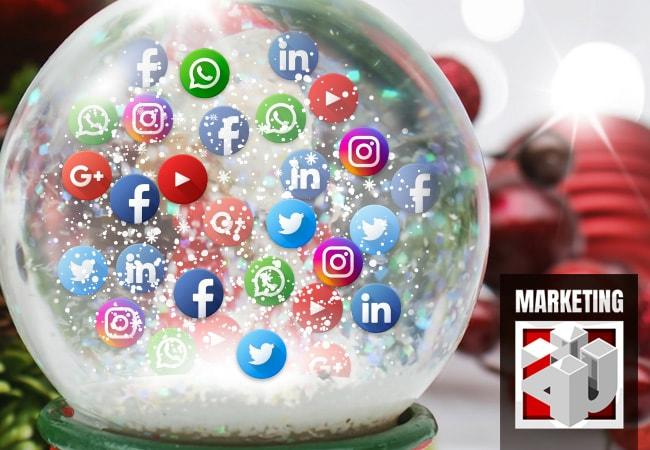 Manejo de Redes Sociales en Navidad - Agencia de Marketing Digital | Marketing 4U