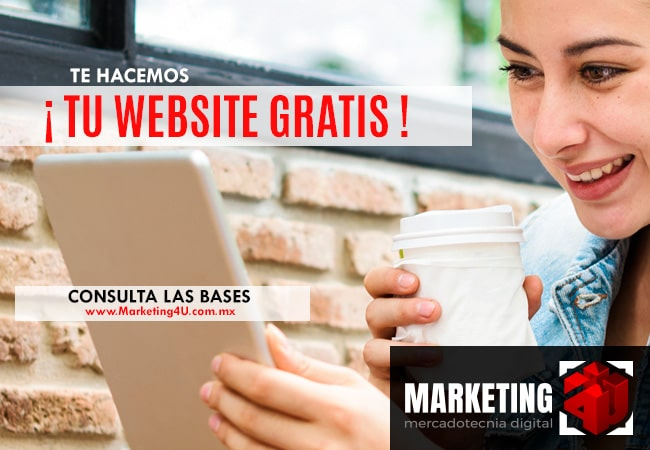 Blog - Marketing 4U te regala tu página web y la posiciona en Internet - Agencia de Marketing Digital